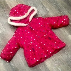 OshKosh B'Gosh Puffer Coat 12 month